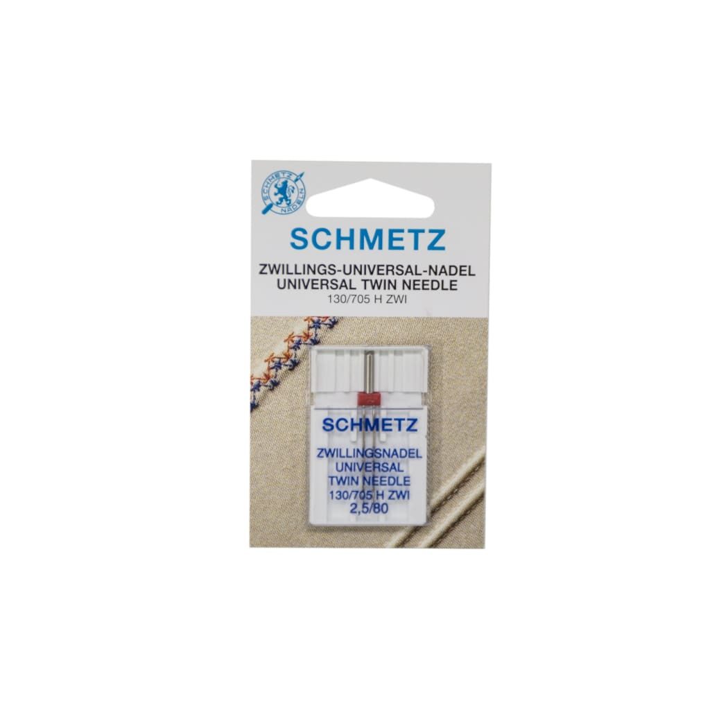 Schmetz - Universal Twin Sewing Machine Needle - 2.5/80 - All Products