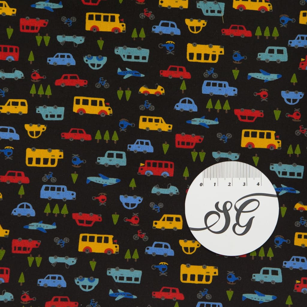 Sevenberry - Mini Prints - Cars On Black - All Products