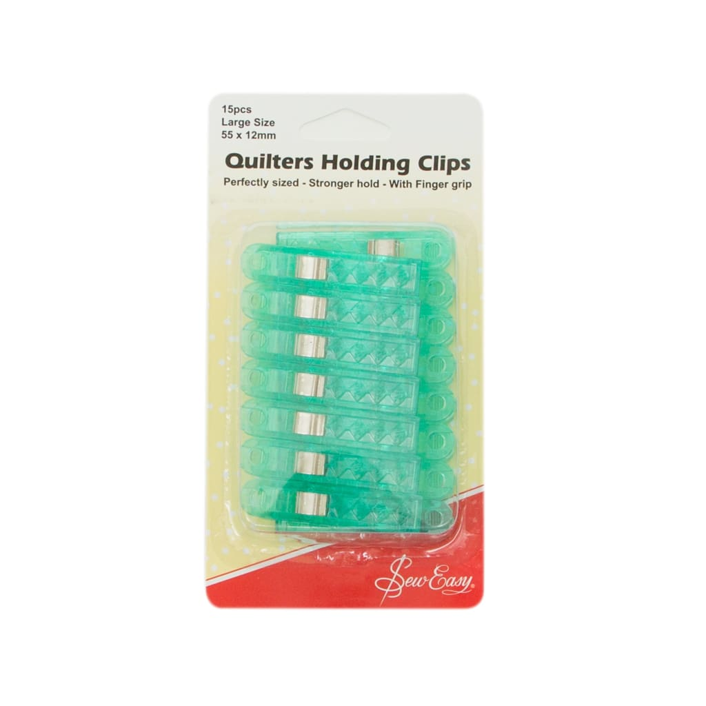Sew Easy - Quilters Holding Clips Bulk Pack - Small - All Products