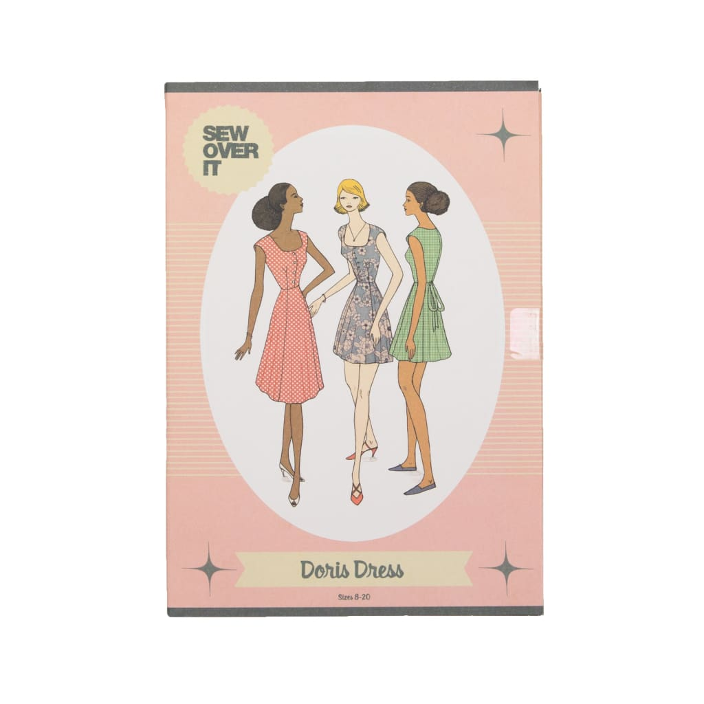 Sew Over It - Doris Dress Pattern - All Products