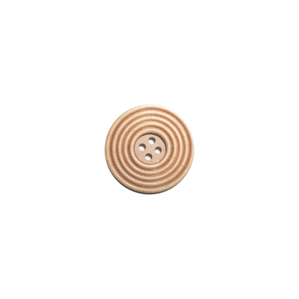Sewing Gem - 4 Hole Natural Wooden Button - 30Mm - All Products