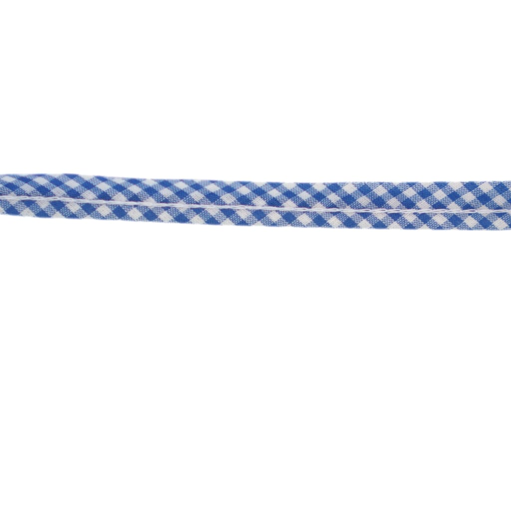 Sewing Gem - Cotton Piping - Blue Gingham - All Products
