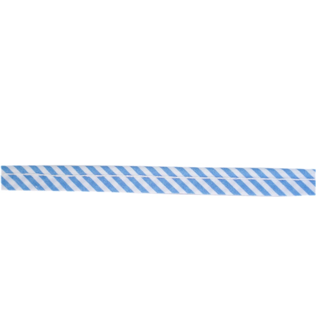Sewing Gem - Cotton Piping - Blue Striped - All Products