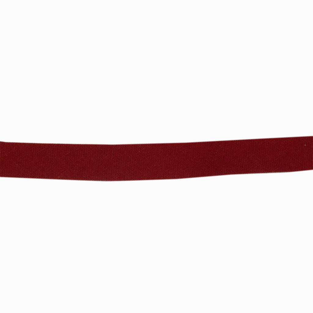 Sewing Gem - 12mm Bias Binding - 100% Cotton - Red
