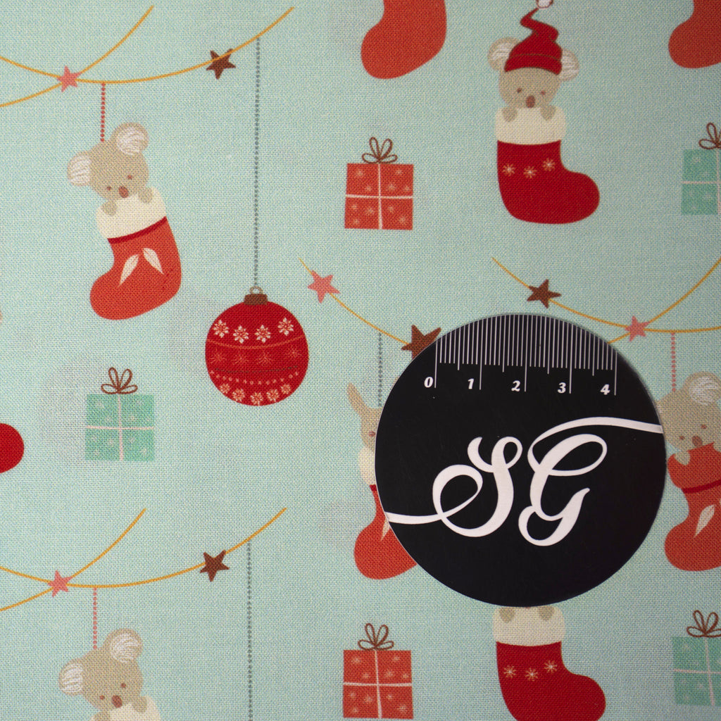 Sew Darling Fabric Design Studio - Festive Christmas - Ornament friends