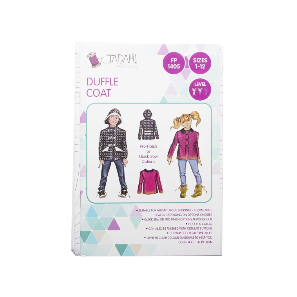 Tadah! Patterns - Duffle Coat - All Products