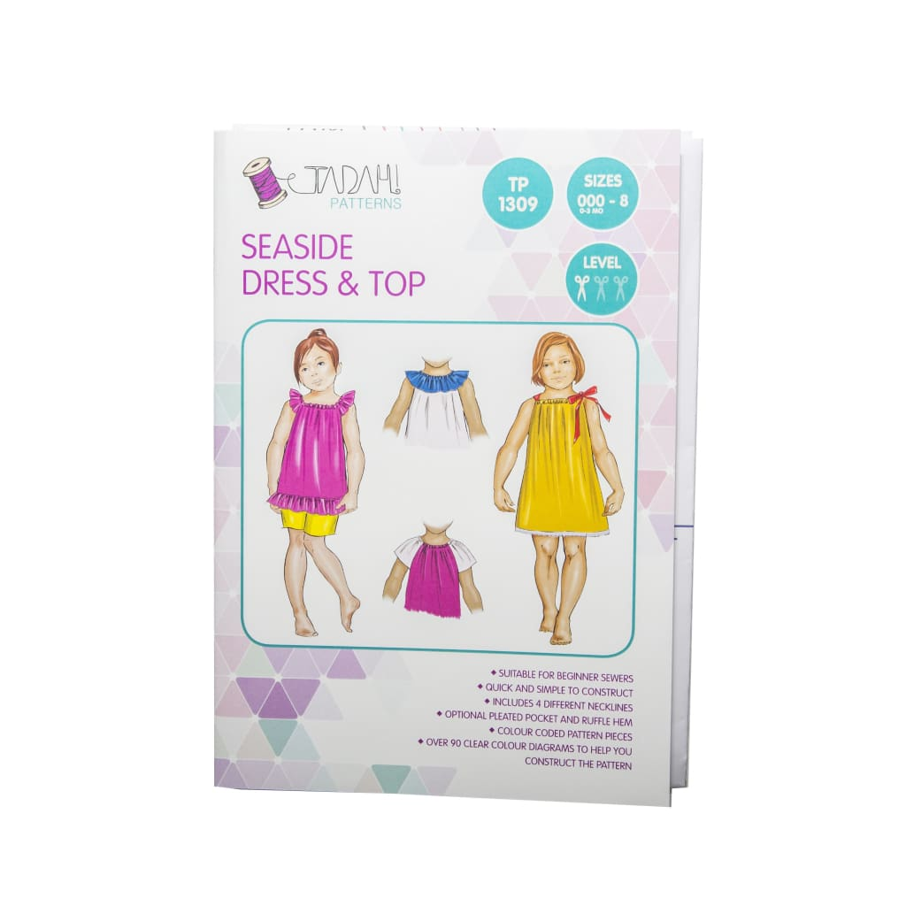 Tadah! Patterns - Seaside Dress & Top Sewing Pattern - All Products