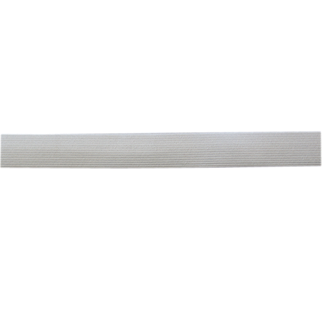 Uni-Trim - Double Knitted Elastic - 25mm Wide - White