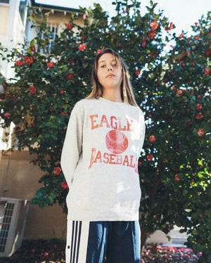 Vintage Eagles Baseball Sweatshirt - Woman's Medium/Men's Small