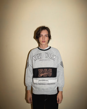 Vintage New York Sports School Sweatshirt (M)