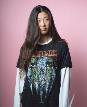 Vintage Metallica T-Shirt - Men's M/L Woman's L