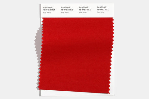 Pantone fire whirl color swatch