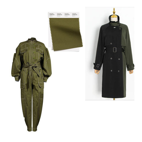 army green fashion color inspiration spring summer 2021