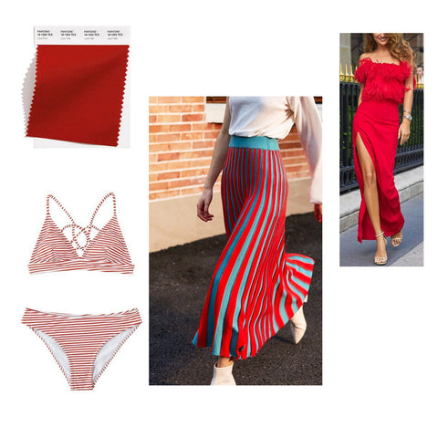 bright red fashion color inspiration spring summer 2021