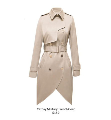 Cathay Military Trench Coat