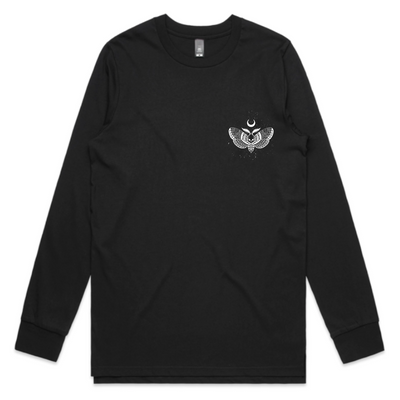 Hannibal Long Sleeve Tee - Unisex - Black