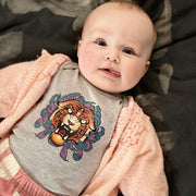 Grey Tiger Onesie (Newborn)