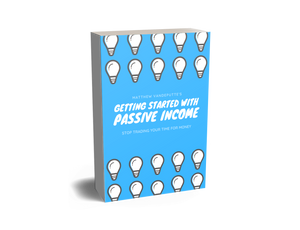 Getting started with passive income
