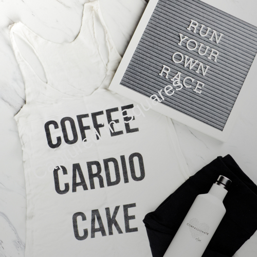 Run Your Own Race Letterboard