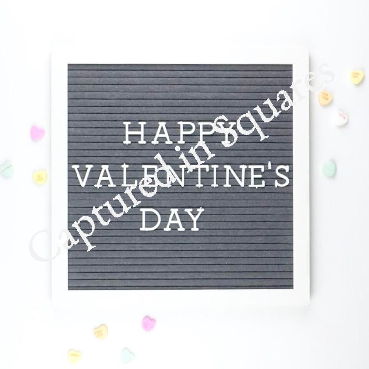 Happy Valentine's Day Letter Board