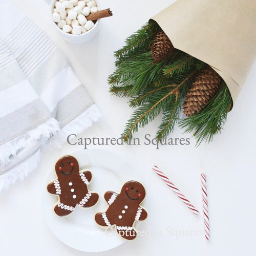 Gingerbread Men and Candycanes
