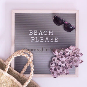 Beach Please Letterboard