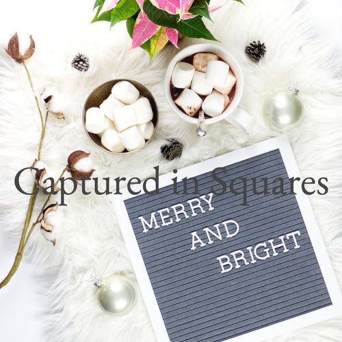 Merry and Bright Letter Board