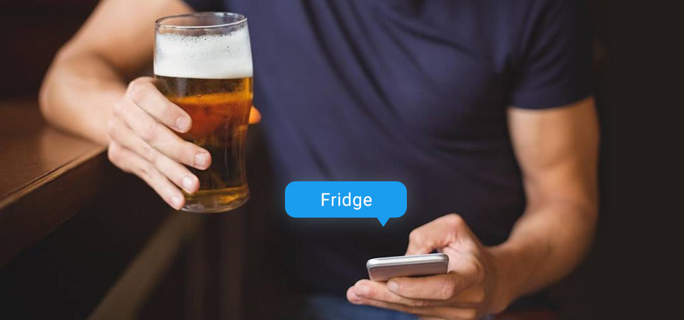 What's in the Fridge? Text It!