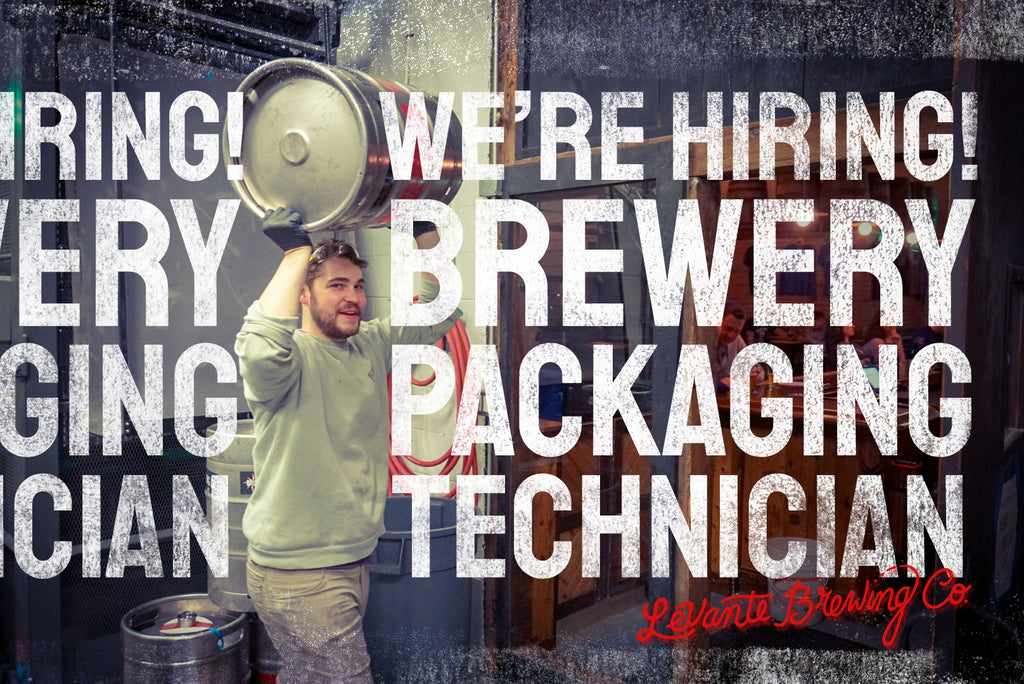 We're Hiring - 1) Bartenders 2) Brewery Packaging Technician
