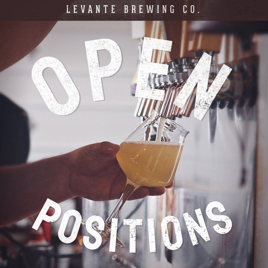 We're Hiring! Part-Time Brewery Assistant