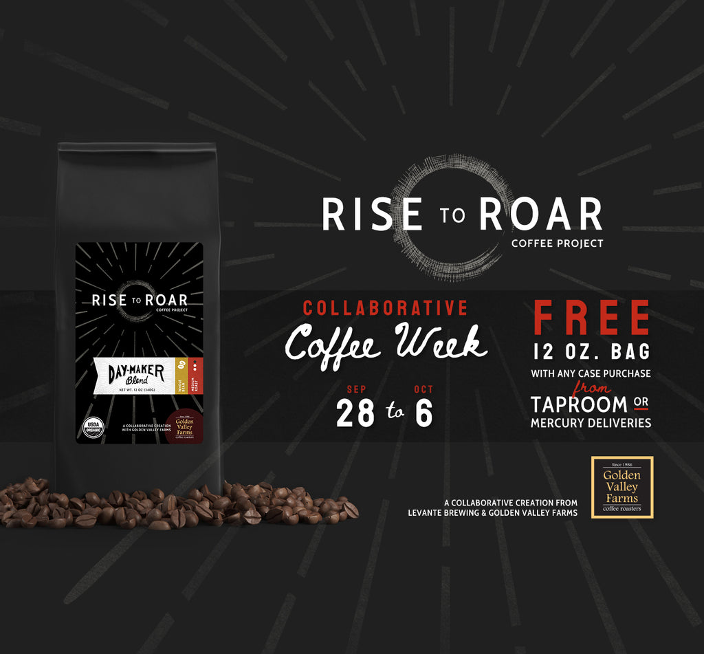 Rise to Roar - Collaborative Coffee Week