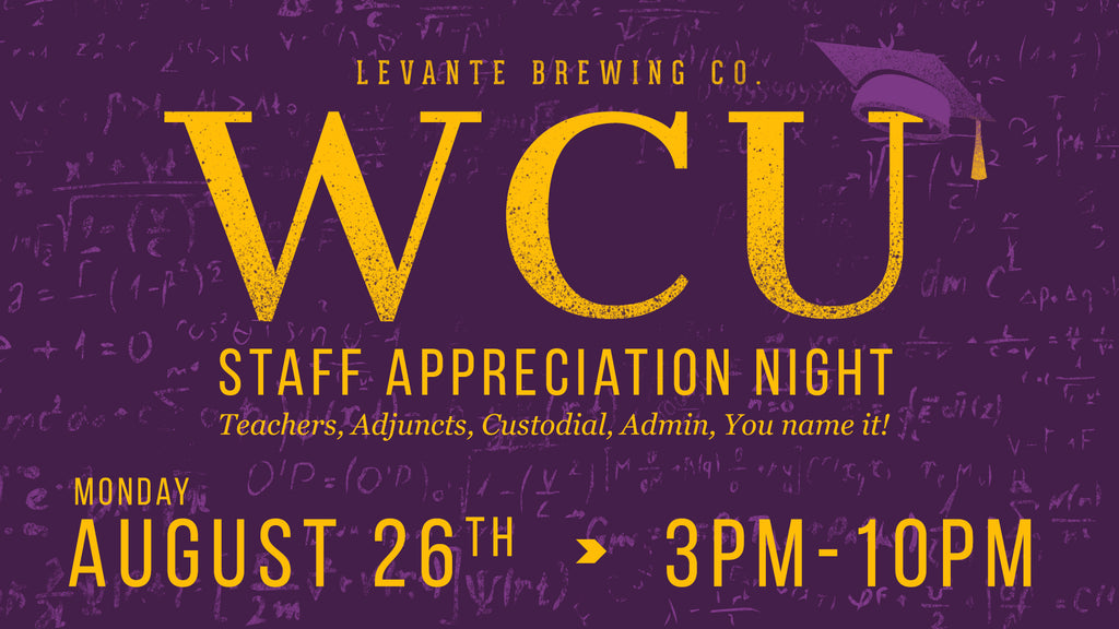 WCU Staff Appreciation Night