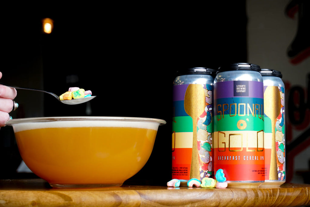 Spoonful O' Gold Cereal IPA