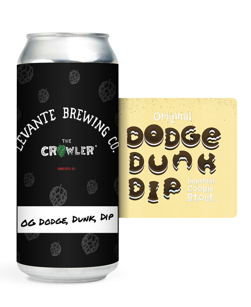 Original Dodge, Dunk, Dip - Imperial Cookie Stout (Crowler)
