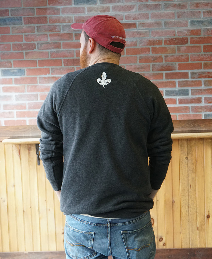 Crew Neck Fleece - Black