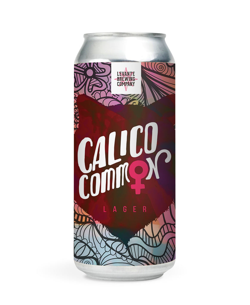 Calico Common - Lager - Pink Boots Collaboration Brew