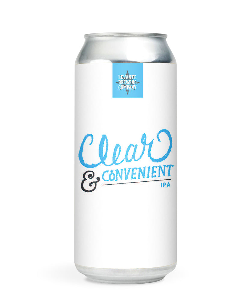Clear & Convenient IPA