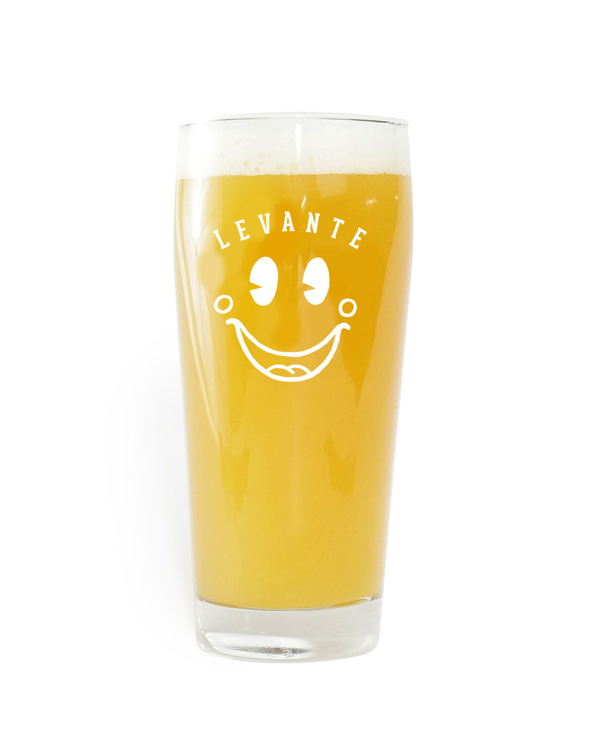 Extra Tickle 16oz Glass