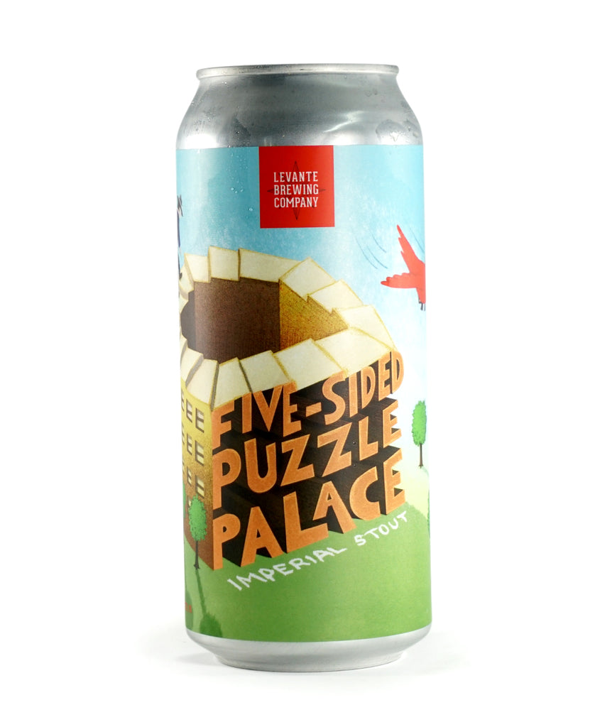 Five Sided Puzzle Palace - Chocolate-Covered Orange Stout (Tattered Flag Collab)