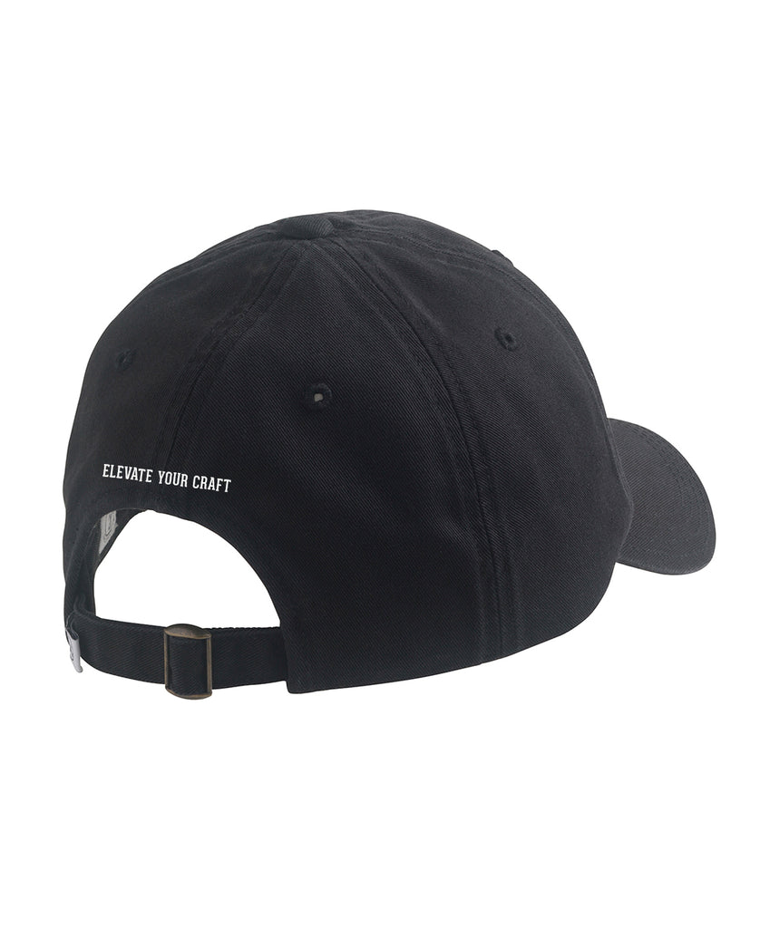 Cotton Twill Hat - Black