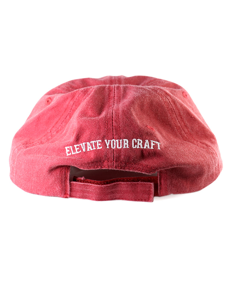 Cotton Twill Hat - Chino Red