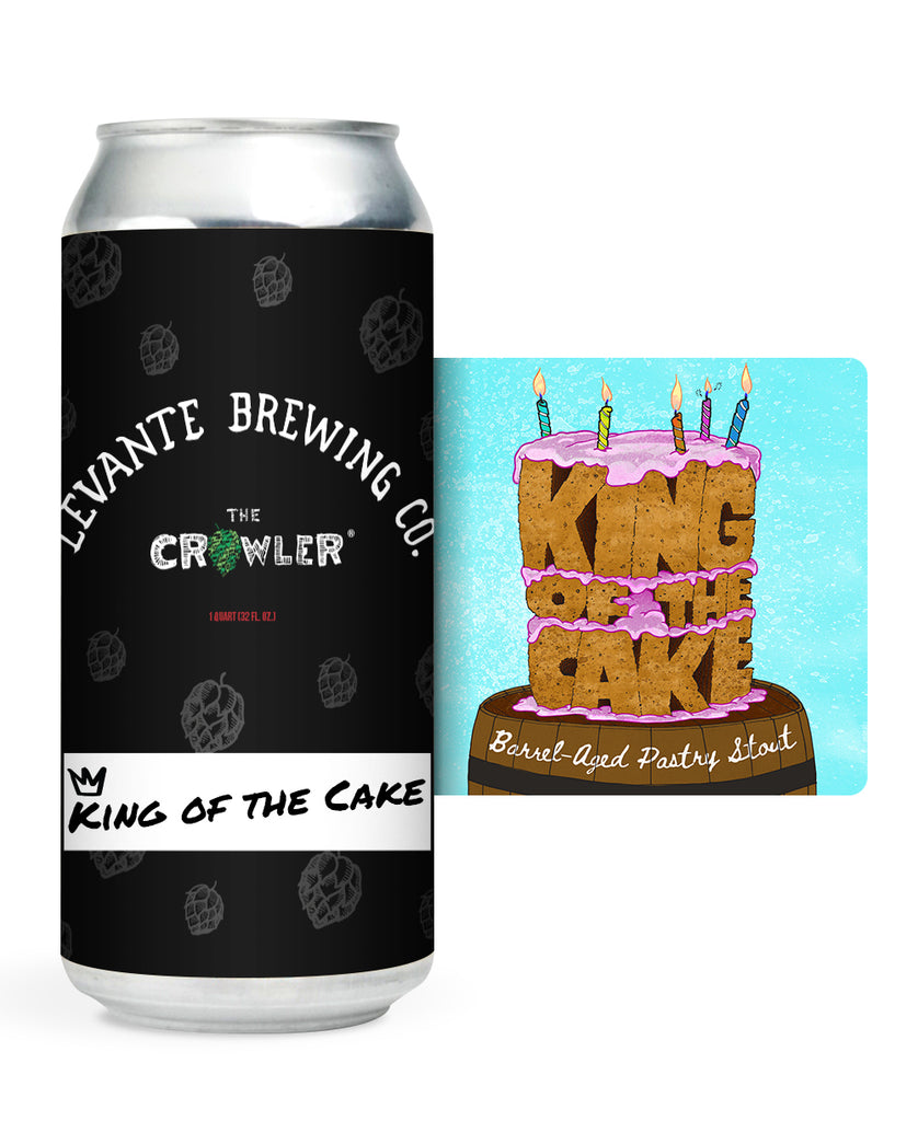 King of the Cake - Barrel-Aged Pastry Stout (Crowler)