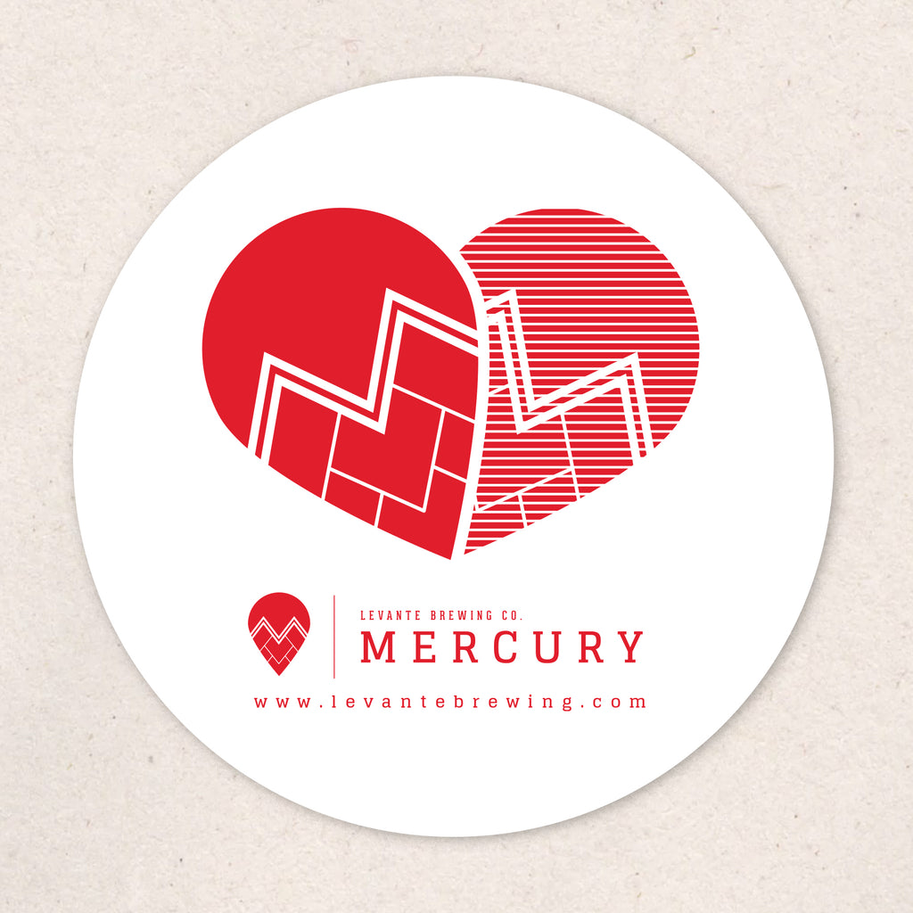 Mercury Love Sticker