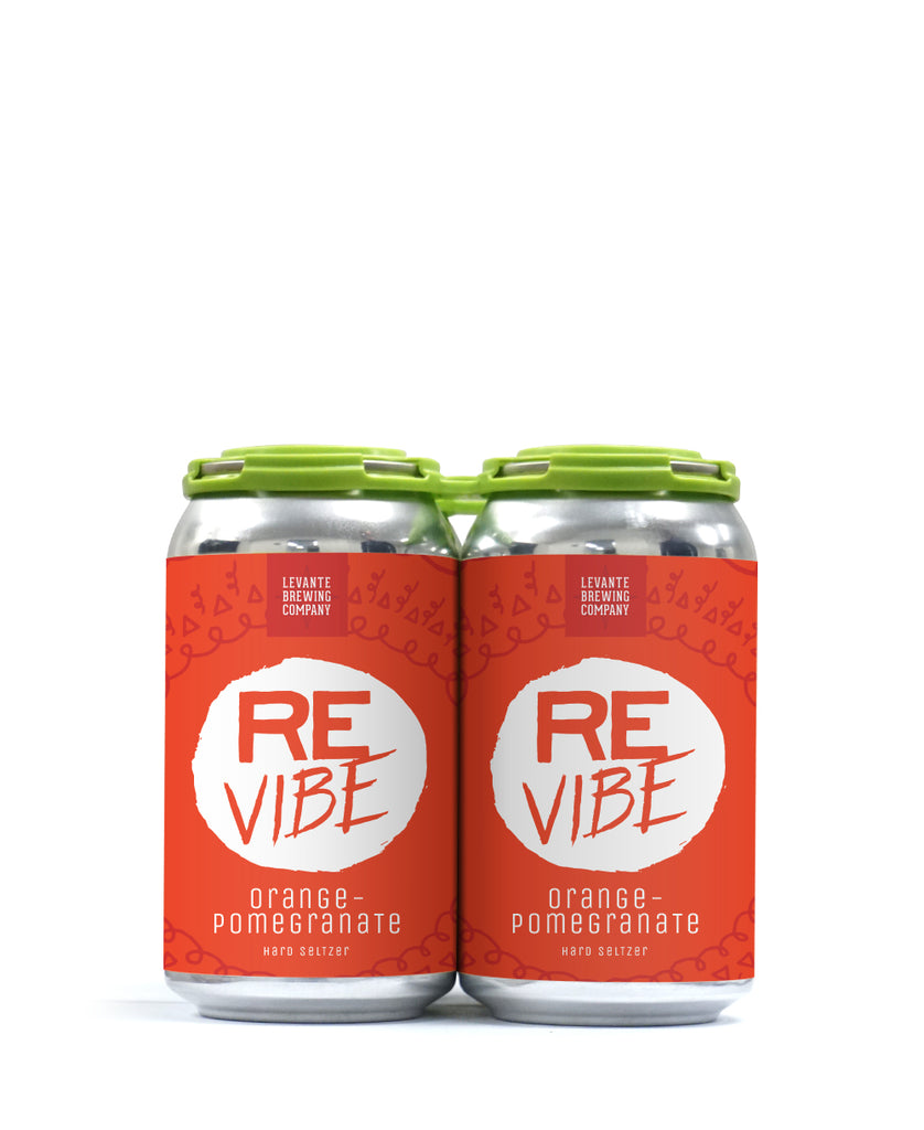 ReVibe - Orange Pomegranate - Sparkling Seltzer