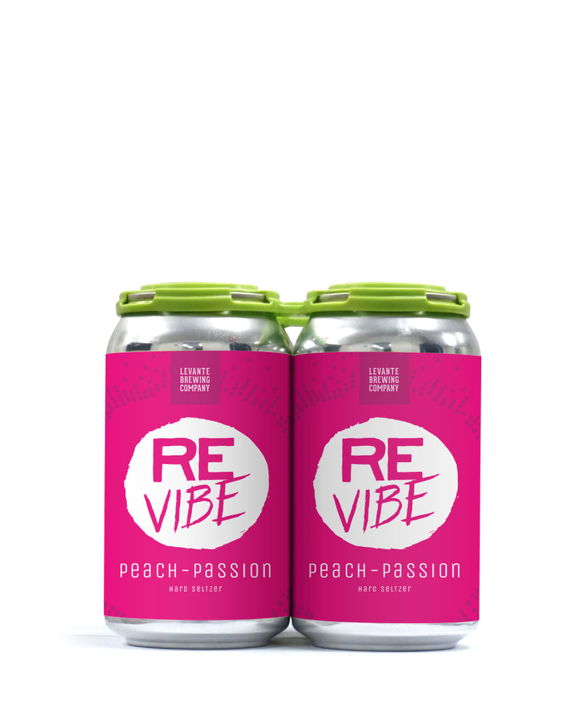 ReVibe - Peach-Passion - Sparkling Seltzer