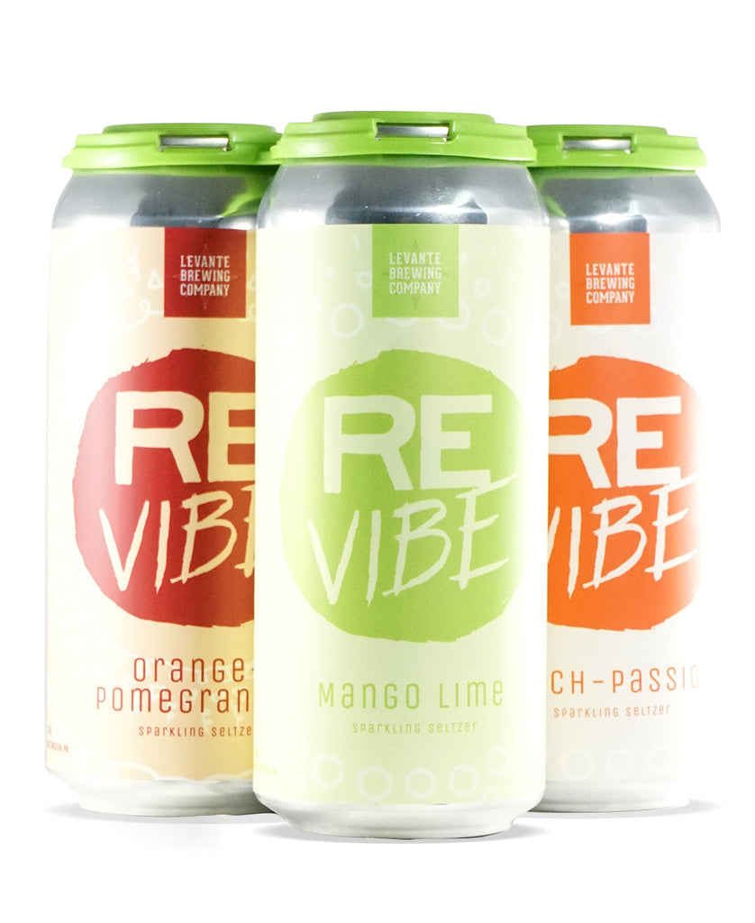 ReVibe - MIXED 4-PACK - Sparkling Seltzer