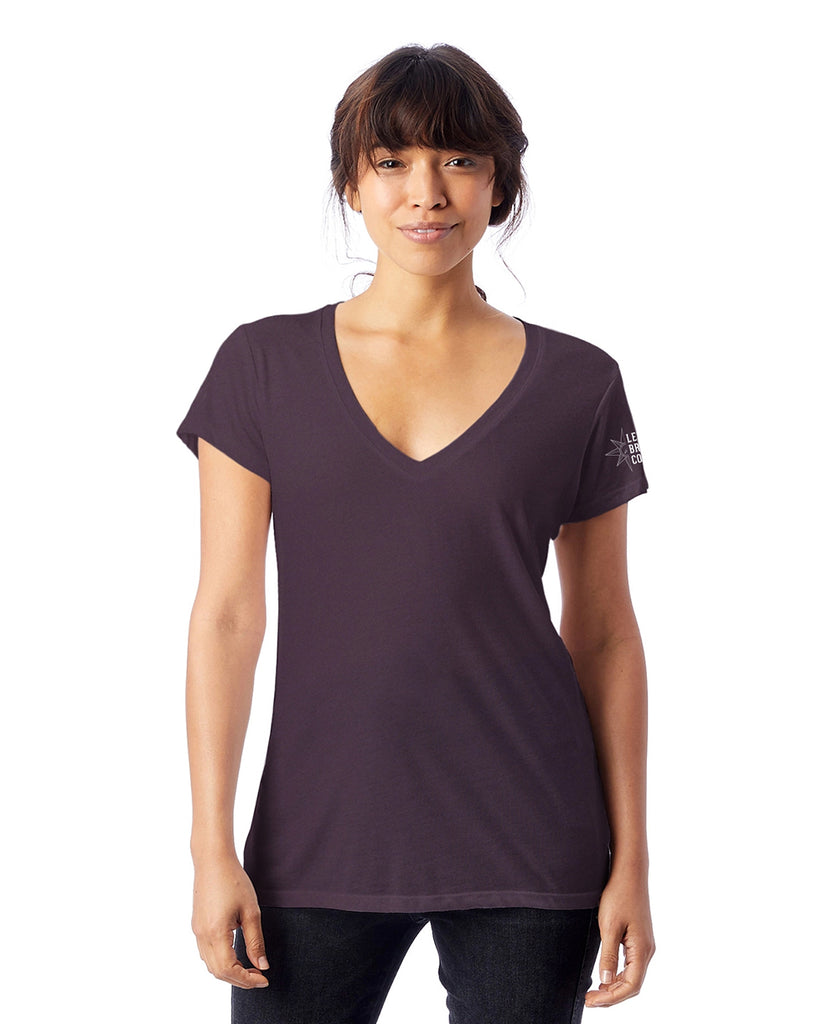 Scripty Levante Logo Women's V-Neck T-Shirt