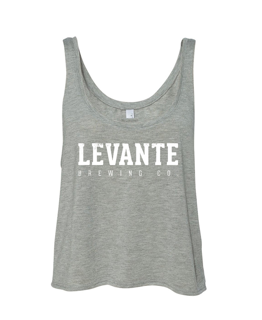 Distressed Levante Logo Women's Boxy Tank