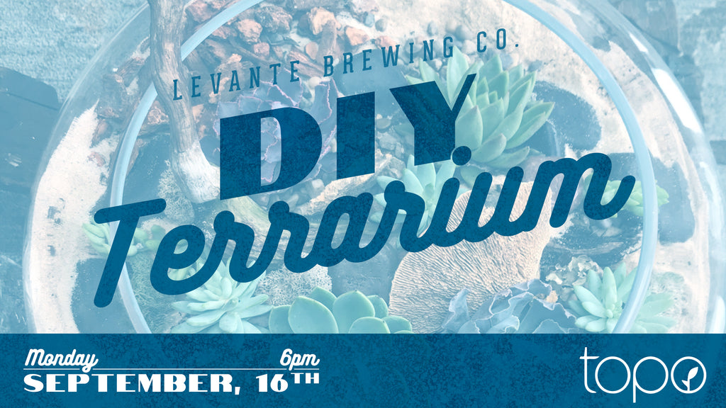 DIY Terrarium Night - Monday September 16th