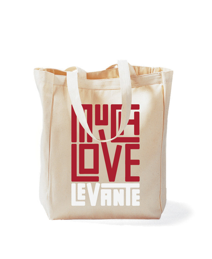 Much Love Canvas Tote